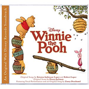 Winnie the Pooh Soundtrack CD