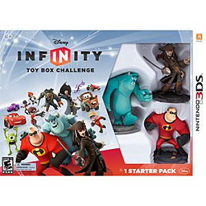 Disney Infinity: Toy Box Challenge Starter Pack for Nintendo 3DS