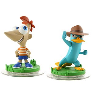 Disney Infinity Phineas and Ferb Toy Box Pack - Phineas and Agent P
