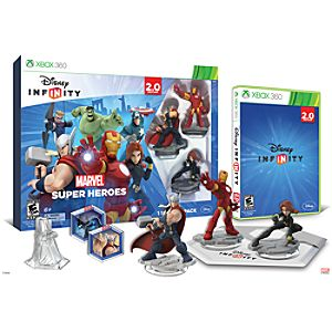Disney Infinity: Marvel Super Heroes Starter Pack for XBox 360 (2.0 Edition) - Pre-Order