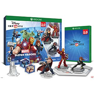Disney Infinity: Marvel Super Heroes Starter Pack for XBox One (2.0 Edition) - Pre-Order