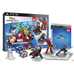 Disney Infinity: Marvel Super Heroes Starter Pack for PS3 (2.0 Edition) - Pre-Order
