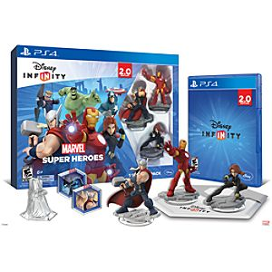 Disney Infinity: Marvel Super Heroes Starter Pack for PS4 (2.0 Edition) - Pre-Order