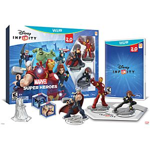 Disney Infinity: Marvel Super Heroes Starter Pack for Nintendo Wii U (2.0 Edition) - Pre-Order