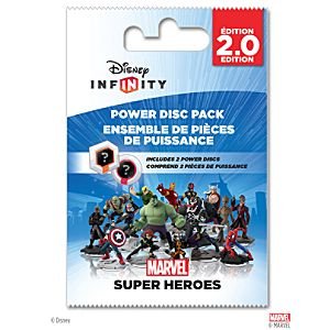 Disney Infinity: Marvel Super Heroes (2.0 Edition) Power Disc Pack - Pre-Order
