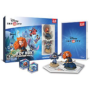 Disney Infinity: Toy Box Starter Pack for XBox 360 (2.0 Edition) - Pre-Order
