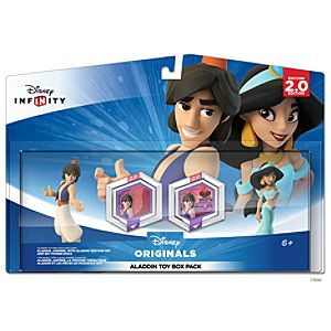 Disney Infinity: Aladdin Toy Box Pack - Aladdin and Jasmine - Pre-Order
