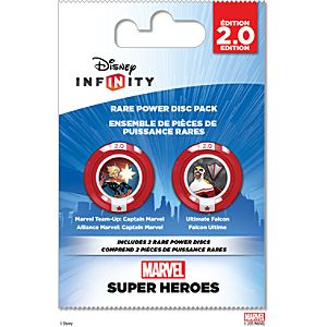 Disney Infinity: Marvel Super Heroes (2.0 Edition) Rare Power Disc Pack