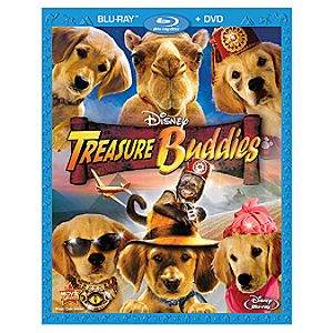 Pre-Order 2-Disc Treasure Buddies Blu-ray Combo Pack