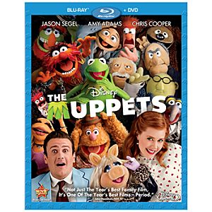 Pre-Order 2-Disc The Muppets Blu-ray and DVD Combo Pack with FREE Lithograph Set Offer*