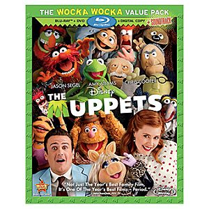 3-Disc The Muppets Blu-ray + DVD + Disney File Combo Pack