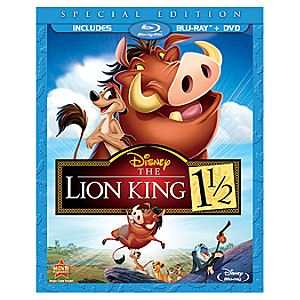 The Lion King 1 1/2 Special Edition Blu-ray and DVD Combo Pack