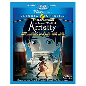 Pre-Order 2-Disc The Secret World of Arrietty Blu-ray and DVD Combo Pack