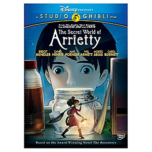 Pre-Order The Secret World of Arrietty DVD