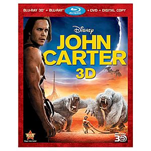 Pre-Order John Carter 4-Disc 3D Blu-ray, DVD, and Digital File Combo Pack