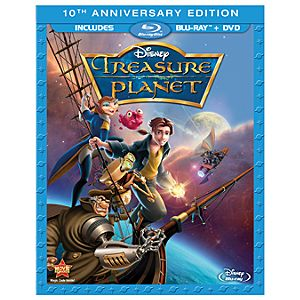 Pre-Order 2-Disc Treasure Planet 10th Anniversary Blu-ray and DVD Combo Pack