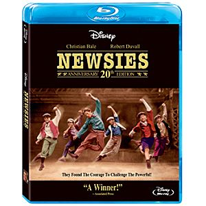 Pre-Order Newsies Blu-ray