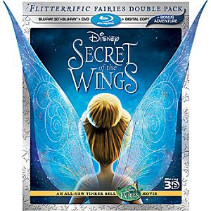 Secret of the Wings 3-D Blu-ray 4-Disc Combo Pack - Pre-Order