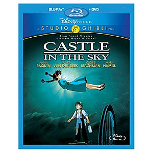 Pre-Order 2-Disc Castle in the Sky Blu-ray and DVD Combo Pack