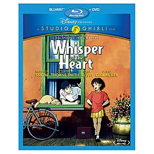 Pre-Order 2-Disc Whisper of the Heart Blu-ray and DVD Combo Pack