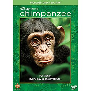 Pre-Order 2-Disc DisneyNature Chimpanzee Blu-ray and DVD Combo Pack (in DVD Amaray case)