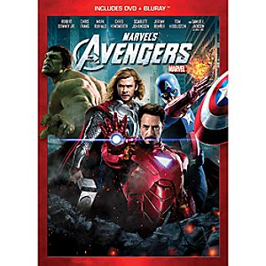 Pre-Order 2-Disc Marvels The Avengers DVD/Blu-ray Combo Pack with FREE Lithograph Offer