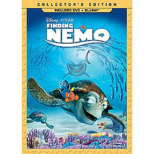 Pre-Order Finding Nemo Blu-ray and DVD 3-Disc Combo Pack with FREE Lithograph Set Offer