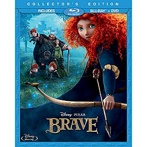 Pre-Order Brave Blu-ray and DVD Combo Pack with FREE Lithograph Set Offer