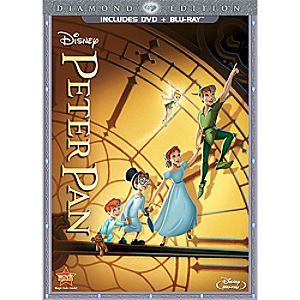 Peter Pan - 2-Disc Combo Pack + FREE Lithograph Offer - Pre-Order