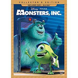 Monsters, Inc. DVD and Blu-ray Combo Pack - Collectors Edition - Pre-Order