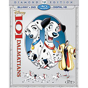101 Dalmatians Diamond Edition Combo Pack with FREE Lithograph Set Offer - Pre-Order