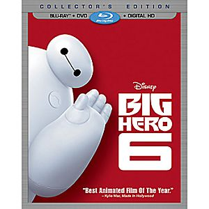 Big Hero 6 Collectors Edition Combo Pack