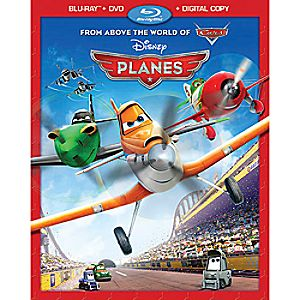 Planes 2-Disc Combo Pack with FREE Lithograph Set Offer - Pre-Order