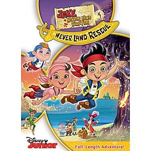Jake and the Never Land Pirates: Jakes Never Land Rescue DVD