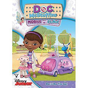 Doc McStuffins Mobile Clinic DVD - Pre-Order