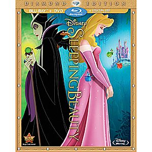 Sleeping Beauty Diamond Edition Combo Pack with FREE Lithograph Set Offer - Pre-Order