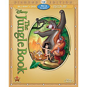 The Jungle Book Blu-ray Diamond Edition with FREE Lithograph Set Offer - Pre-Order