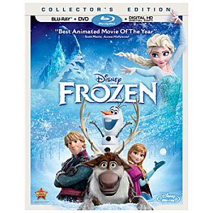 Frozen Blu-ray Collectors Edition with FREE Lithograph Set Offer - Pre-Order