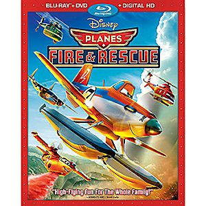 Planes: Fire & Rescue Blu-ray Combo Pack with FREE Lithograph Set Offer - Pre-Order