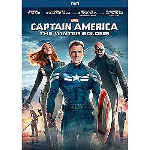 Captain America: The Winter Soldier DVD - Pre-Order