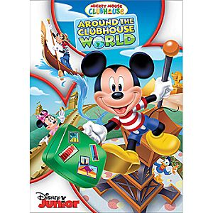 Mickey Mouse Clubhouse: Around the Clubhouse World DVD - Pre-Order