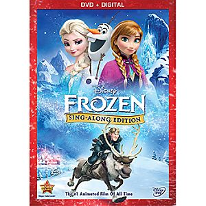 Frozen Sing-Along Edition DVD - Pre-Order