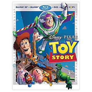 Pre-Order 4-Disc Toy Story Blu-ray 3-D + Blu-ray + DVD + Disney File Combo Pack