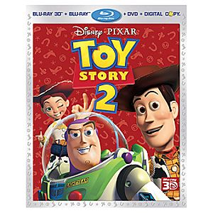 Pre-Order 4-Disc Toy Story 2 Blu-ray 3-D + Blu-ray + DVD + Disney File Combo Pack
