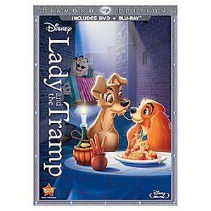 Pre-Order Diamond Edition 2-Disc Lady and the Tramp Blu-ray Combo Pack + FREE Lithograph Set Offer*