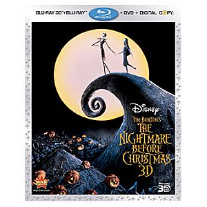 Nightmare Before Christmas 3-Disc Blu-Ray Combo Pack