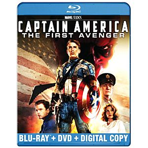 Pre-Order 2-Disc Captain America: The First Avenger Blu-ray Combo Pack
