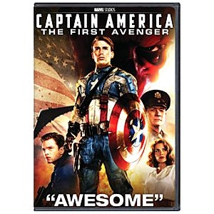 Pre-Order Captain America: The First Avenger DVD
