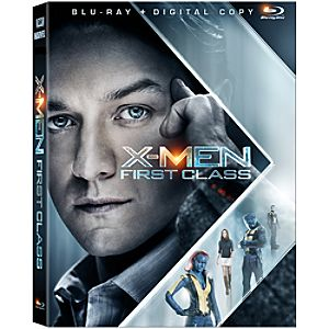 2-Disc X-Men: First Class Blu-ray Combo Pack