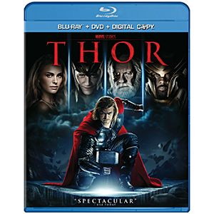 2-Disc Thor Blu-ray Combo Pack